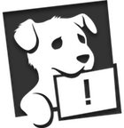 sad Datadog logo