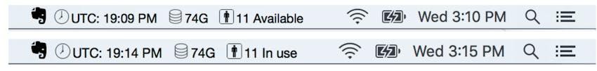 Bathroom Status via TextBar