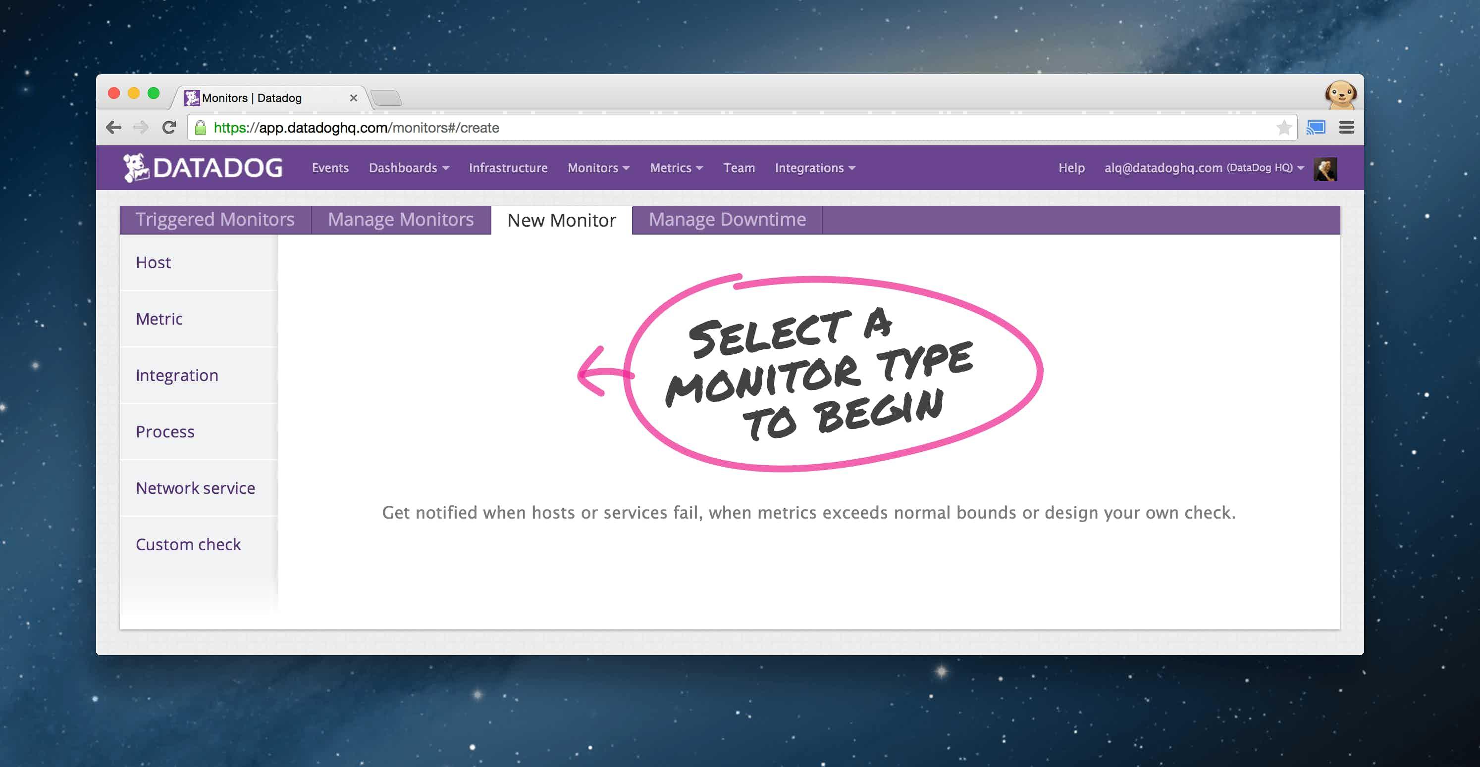 Monitors---Datadog