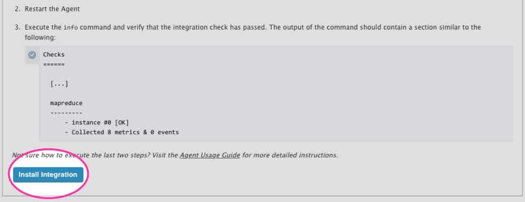 Install Hadoop integration