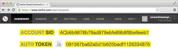 Send Datadog alerts by Twilio SMS with WebHooks