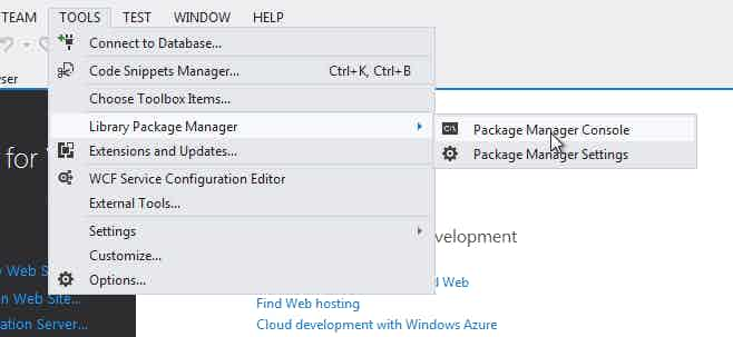 Microsoft .Net Blog Package