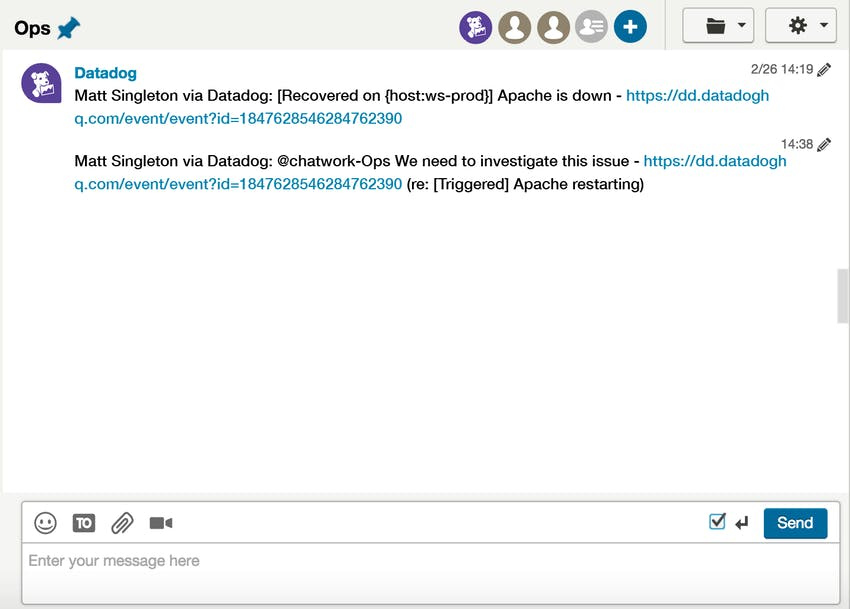 ChatWork integration